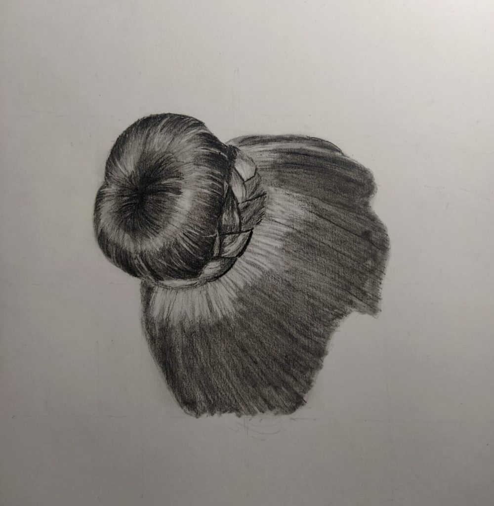 How To Draw Hair Step By Step 8 Steps The Ravi Arts